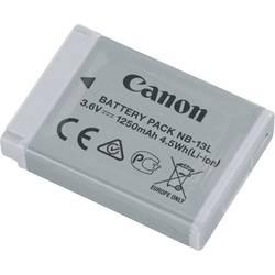Kamerabatteri Canon Ersättning originalbatteri NB-13L 3.6 V 1250 mAh