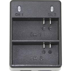Dvostruki punjač za GoPro 4 baterije za GoPro Hero 4 crni / srebrni baterije DCGP4