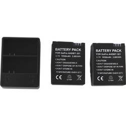 Dvostruki punjač za GoPro 3/3+ uklj. 2 baterije za GoPro Hero 3 , GoPro Hero3+ crnio, bijelo i srebrno izdanje DCGP3_2A