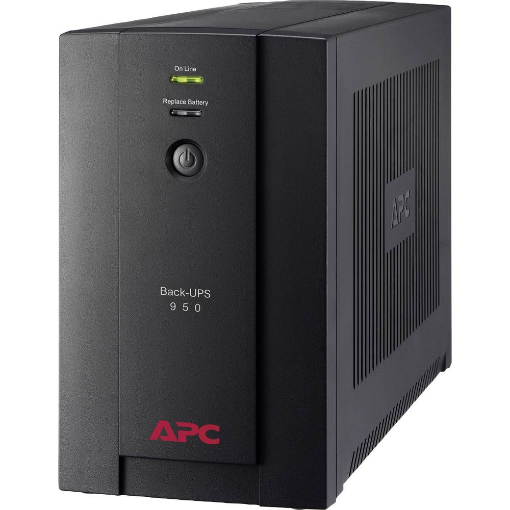 APC by Schneider Electric BX950U-GR Back-UPS UPS 950 VA