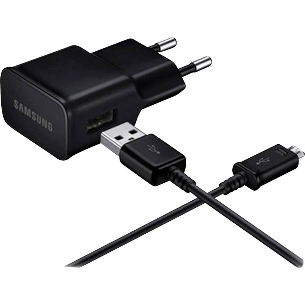 USB-oplader Samsung EP-TA20 EP-TA20 BULK Stikdåse 1 x Micro-USB-Stecker (value.1390754)