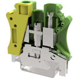 Jordklemme 10.2 mm Skruer Gulgrøn Degson PC10-PE-01P-1Y-00AH 50 stk