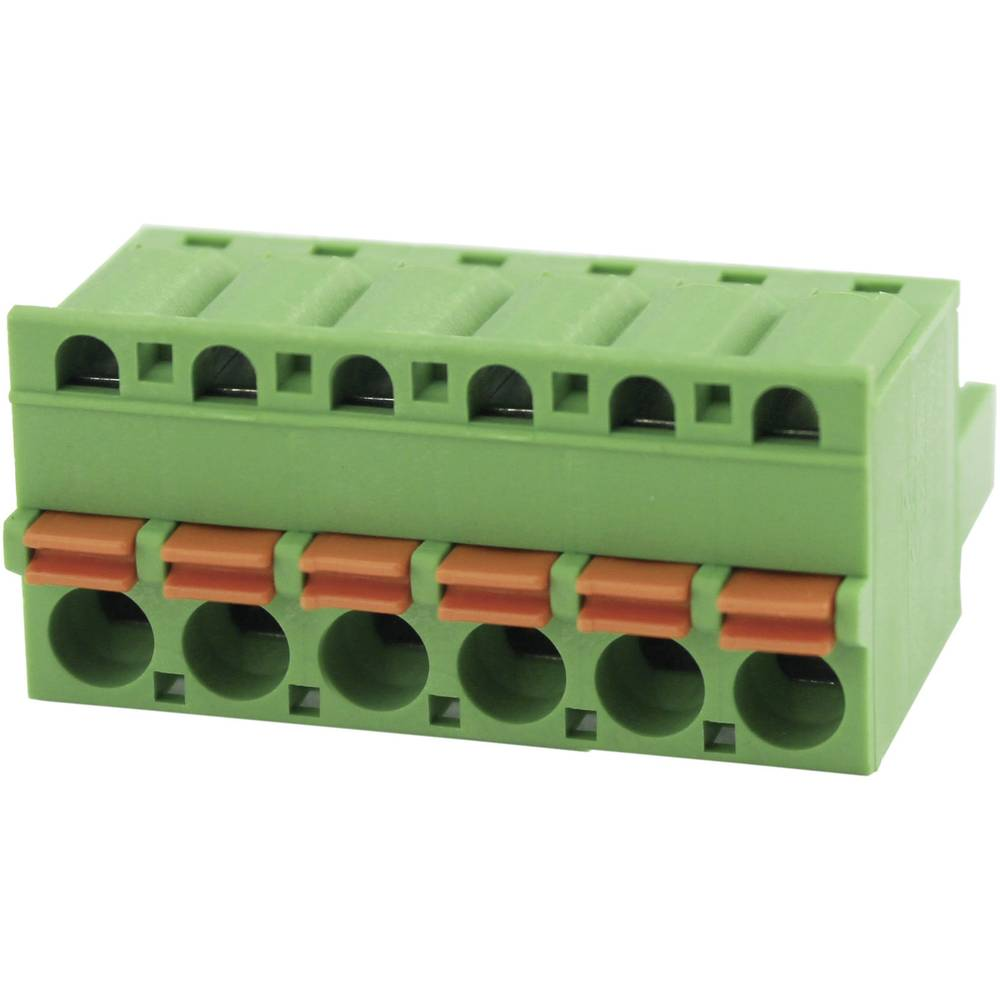 Stiftkabinet-kabel Samlet antal poler 10 Degson 2EDGKD-5.08-10P-14-00AH Rastermål: 5.08 mm 1 stk