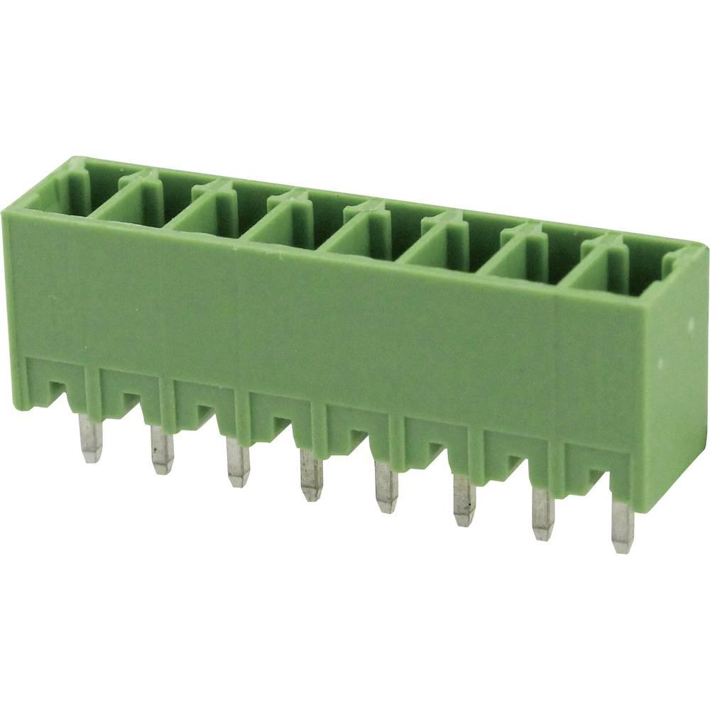 Tilslutningskabinet-printplade Samlet antal poler 6 Degson 15EDGVC-3.5-06P-14-00AH Rastermål: 3.5 mm 1 stk