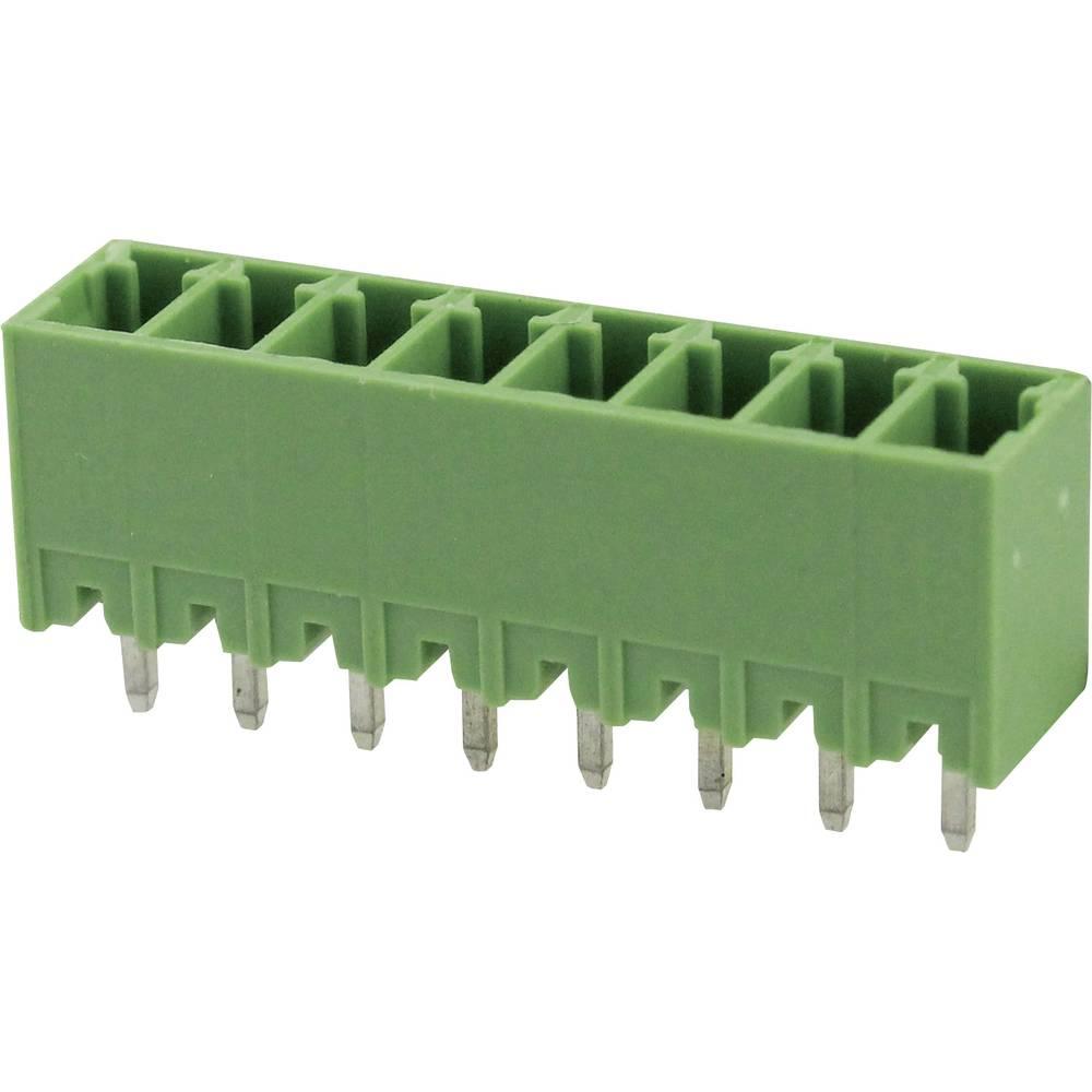 Tilslutningskabinet-printplade Samlet antal poler 4 Degson 15EDGVC-3.81-04P-14-00AH Rastermål: 3.81 mm 1 stk