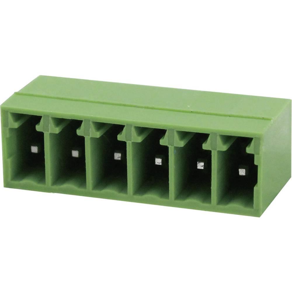 Tilslutningskabinet-printplade Samlet antal poler 4 Degson 15EDGRC-3.5-04P-14-00AH Rastermål: 3.5 mm 1 stk