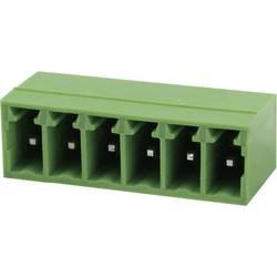 Tilslutningskabinet-printplade Samlet antal poler 6 Degson 15EDGRC-3.5-06P-14-00AH Rastermål: 3.5 mm 1 stk