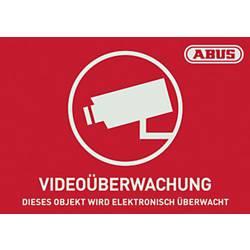 Opozorilna nalepka Video nadzor Jeziki Nemški (Š x V) 148 mm x 105 mm ABUS AU1420