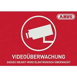 Opozorilna nalepka Video nadzor Jeziki Nemški (Š x V) 74 mm x 52.5 mm ABUS AU1421