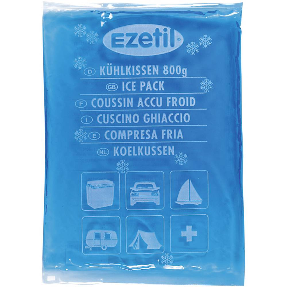 Hladilni vložki EZetil SoftIce -18°C 800 blue Ezetil Blau (L x B x H) 210 x 15 x 310 mm