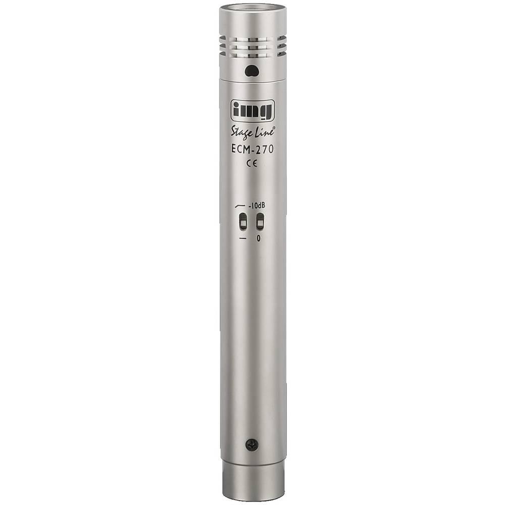 Mikrofon za inštrumente IMG Stage Line ECM-270 prenos:s kablom vklj. kovček