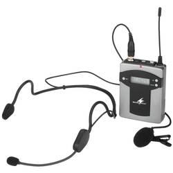 Naglavni komplet govorni mikrofon Monacor TXA-800HSE prenos:brezžični, kovinsko ohišje, stikalo