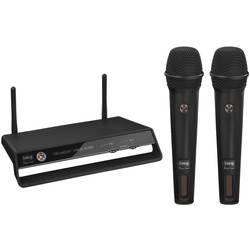 Brezžični mikrofon, komplet IMG Stage Line TXS-2402SET prenos:brezžični, stikalo