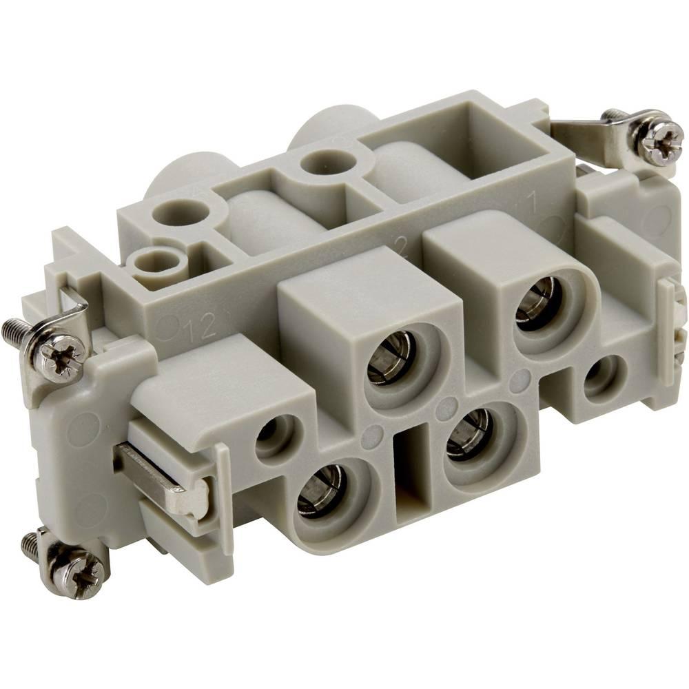 Vtična enota EPIC® Power K 4/0 44424042 LappKabel skupno število polov 4 + PE 10 kosov