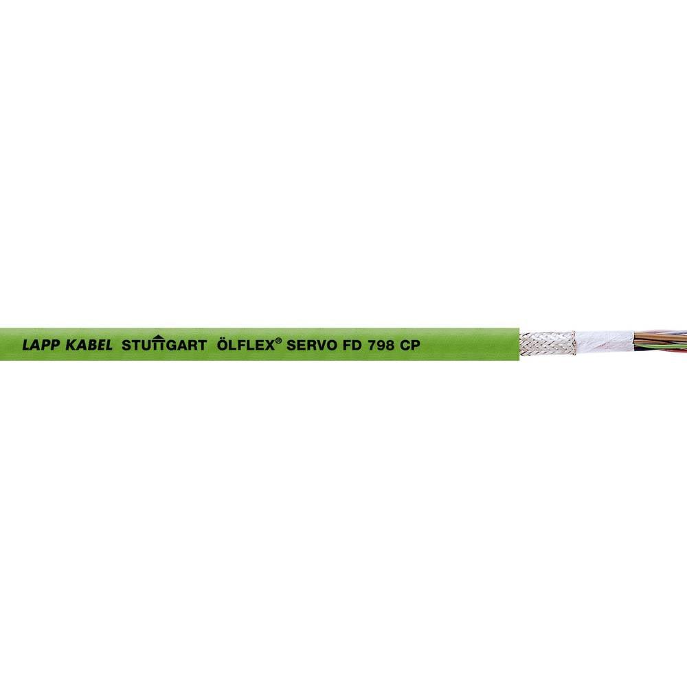Energijski kabel ÖLFLEX® SERVO FD 798 CP 8 x 0.25 mm zelene barve LappKabel 0036921 500 m