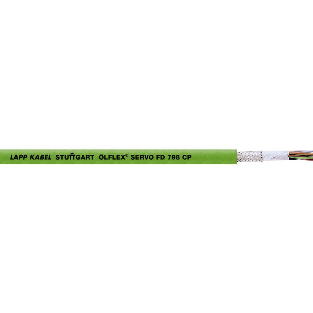 Energetski kabel ÖLFLEX® SERVO FD 798 CP 6 x 0.14 mm + 4 x 0.14 mm zelene boje LappKabel 0036913 1000 m