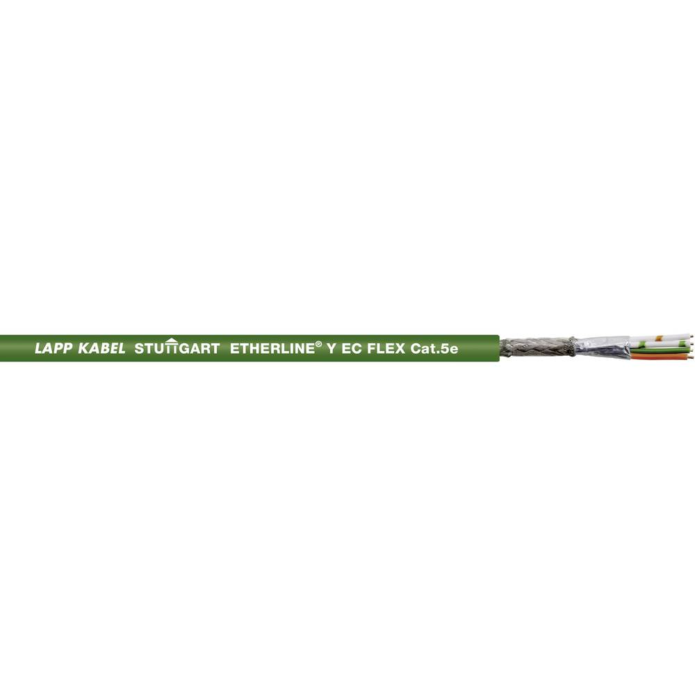 Mrežni kabel CAT 5e SF/UTP 2 x 2 x 0.12 mm zelene boje LappKabel 2170430 500 m