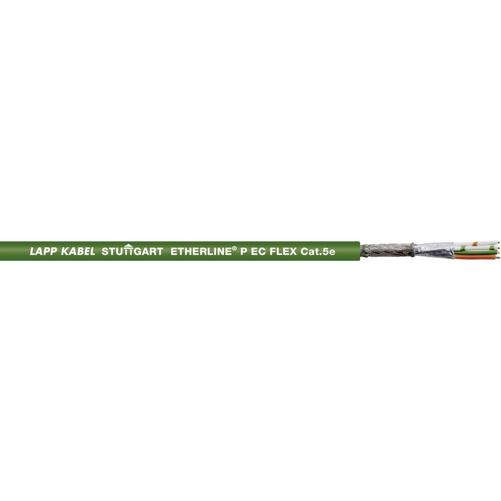 Mrežni kabel CAT 5e SF/UTP 2 x 2 x 0.12 mm zelene boje LappKabel 2170431 1000 m