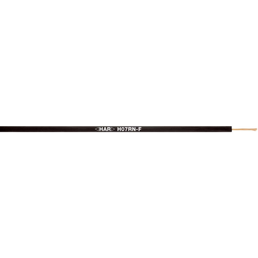 Priključni vodnik H07RN-F 3 G 4 mm črne barve LappKabel 4533033 500 m