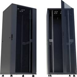 19 omrežna omara Intellinet 713382 (Š x V x G) 800 x 1728 x 800 mm 36 U Črna (RAL 9005)