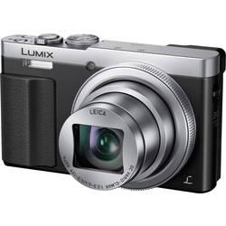 Digitalkamera Panasonic DMC-TZ71EG-S 12.1 MPix Sølv Hus (body), inkl. batteri