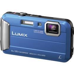 Digitalni fotoaparat Panasonic DMC-FT30EG-A 16.1 mio. pikslov optični zoom: 4 x modre barve, podvodni fotoaparat, odporen na mra