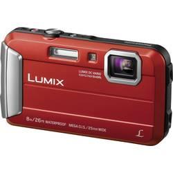 Digitalni fotoaparat Panasonic DMC-FT30EG-R 16.1 mio. pikslov optični zoom: 4 x podvodni fotoaparat, odporen na mraz in špricano