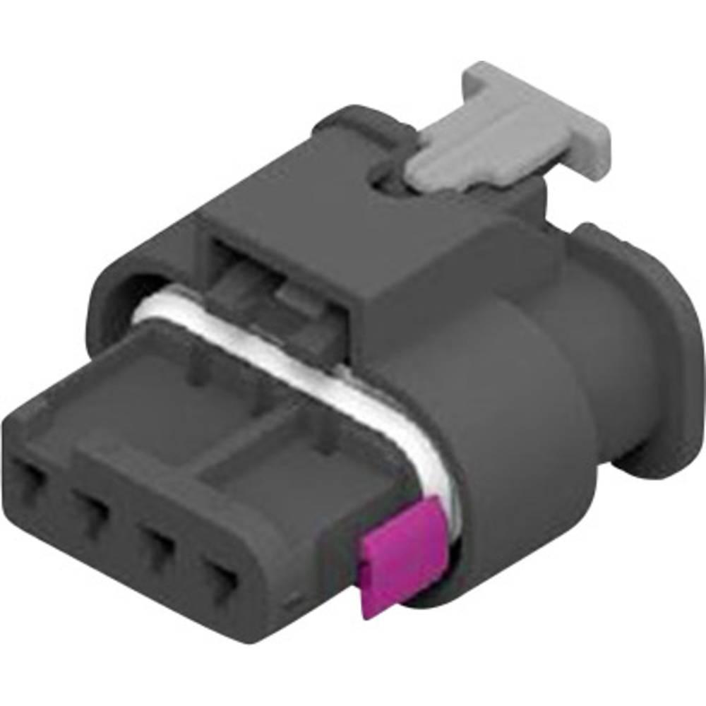 Tilslutningskabinet-kabel MCON 1.2 Samlet antal poler 4 TE Connectivity 1-1670918-1 1 stk