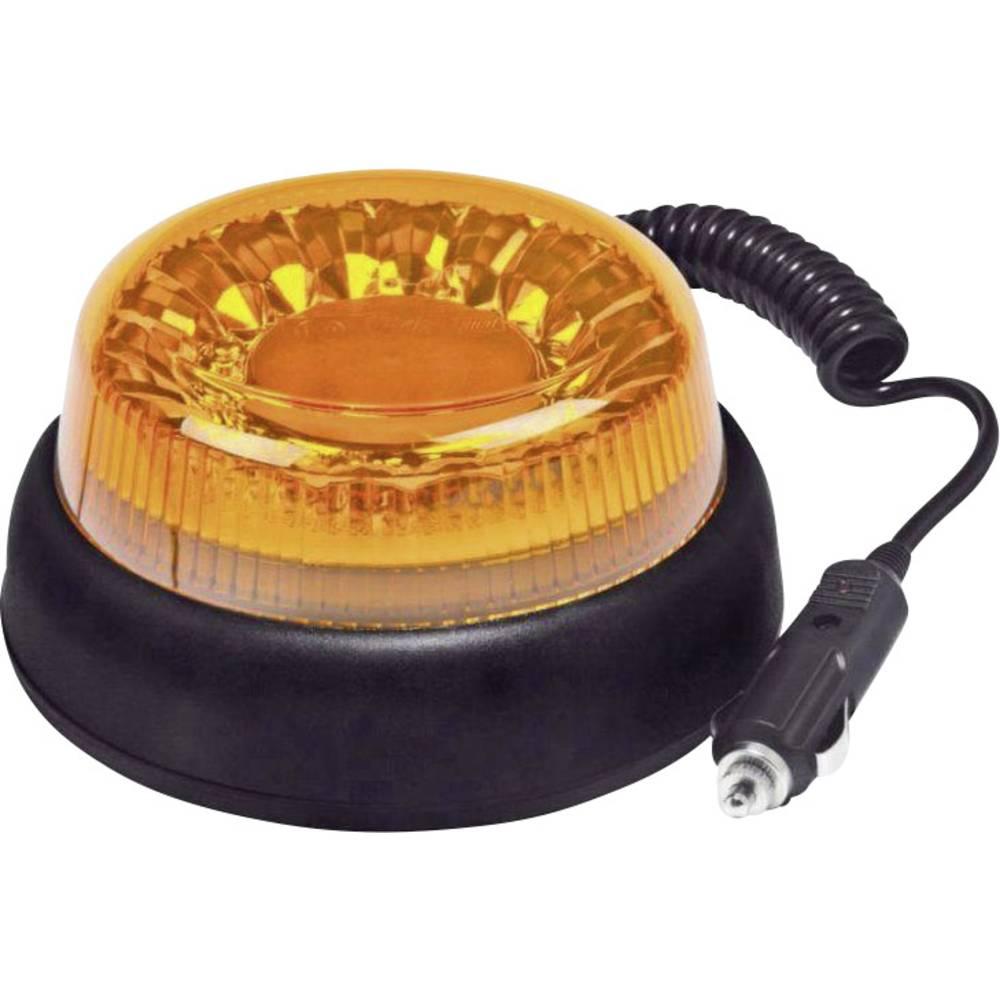 Rotorblink 12 V, 24 V, 40 V via ledningsnet Magnet-montering Orange SecoRüt E-Nummer