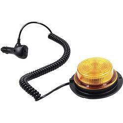 LED opozorilna luč SecoRüt, namestitev z magnetom, namestitev z vijaki, 12 V, 24 V, oranžna, črna