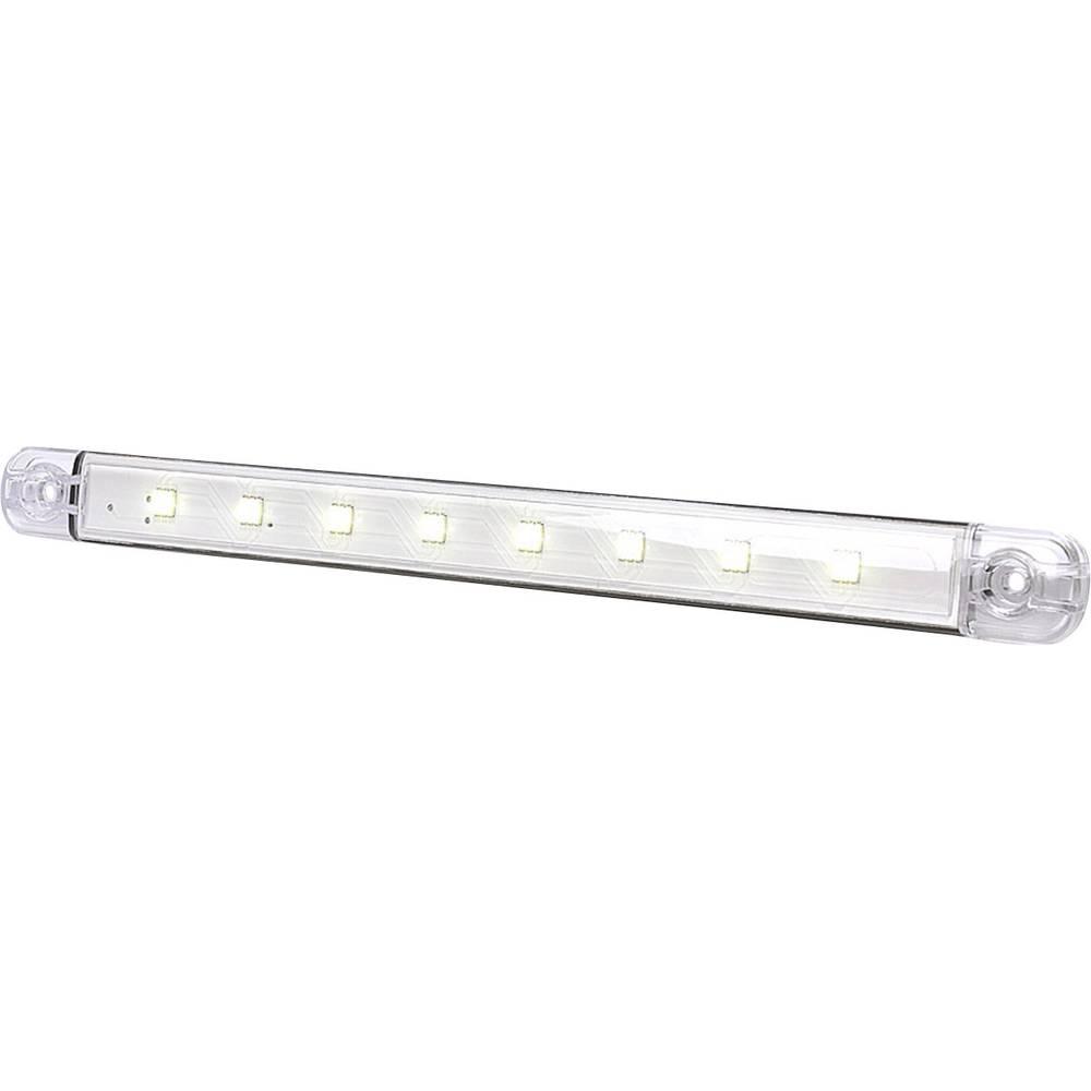 LED-kabinelys 12 V Højeffektive LED-lys (B x H x T) 238 x 25 x 10.4 mm SecoRüt 95729