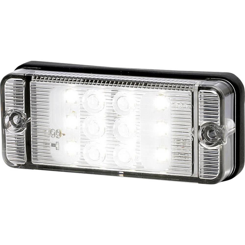Højeffektive LED-lys Baklys Baklys bagved 12 V, 24 V Hvid SecoRüt Klar glas