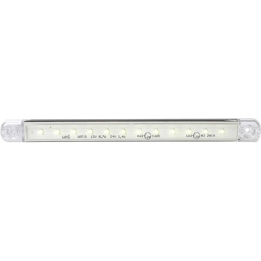 LED-markirna luč, bela prozorna 12 V, 24 V SecoRüt