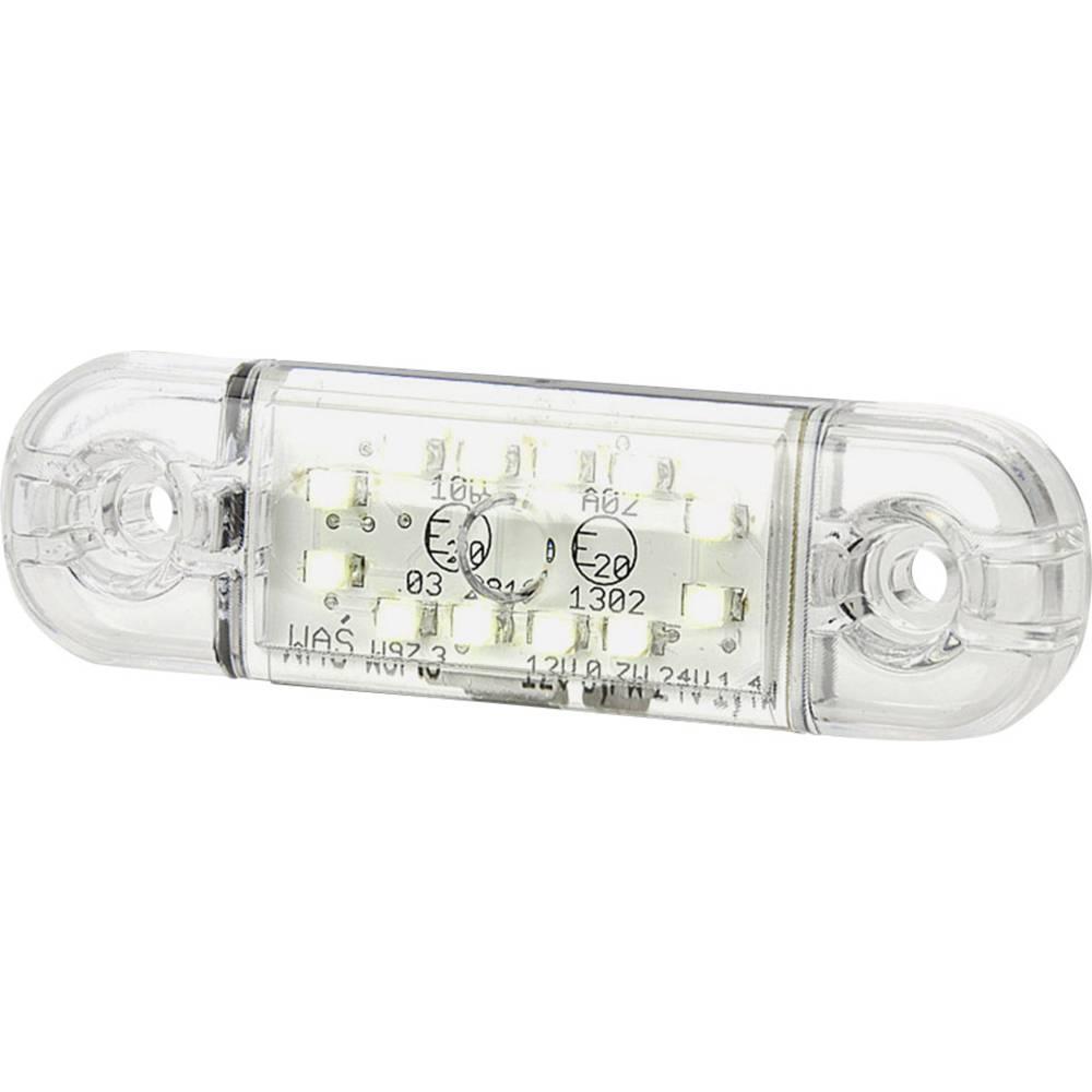 LED omejevalna luč, bela, transparentna 12 V, 24 V SecoRüt