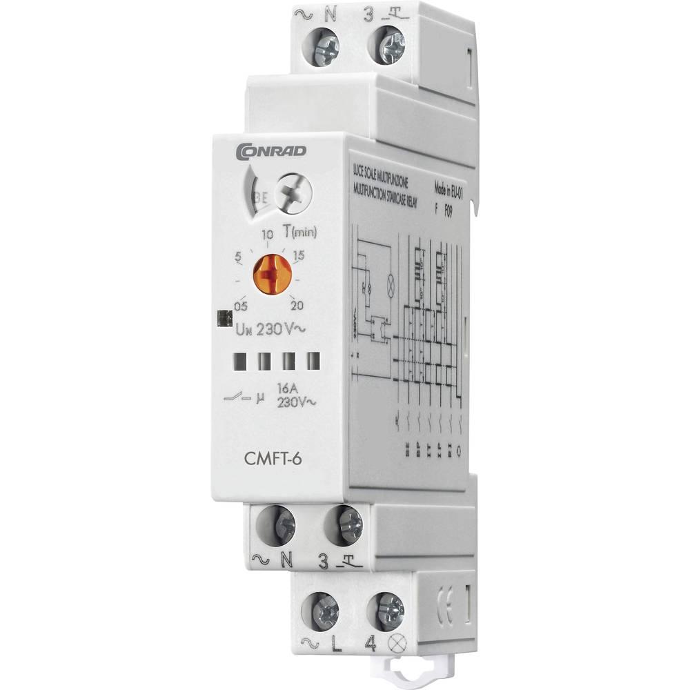 Multifunkcijski lučni avtomat CMFT-6 1 kos Conrad CMFT-6 230 V/AC 16 A 250 V/AC 3700 VA