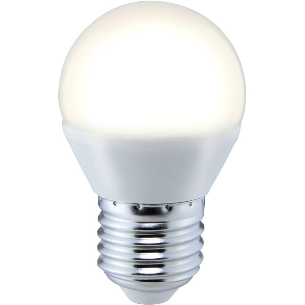 LED žarulja (jednobojna) 73 mm sygonix 230 V E27 5 W = 35 W toplo-bijela KEU: A+ oblik kapljice, sadržaj: 1 kom.