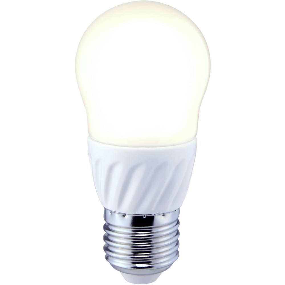 LED žarulja (jednobojna) 73 mm sygonix 230 V E27 3.5 W = 25 W toplo-bijela KEU: A+ oblik kapljice, sadržaj: 1 kom.