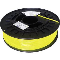3D-skrivare Filament German RepRap 100429 PLA-plast 3 mm Gul (fluorescerat) 750 g