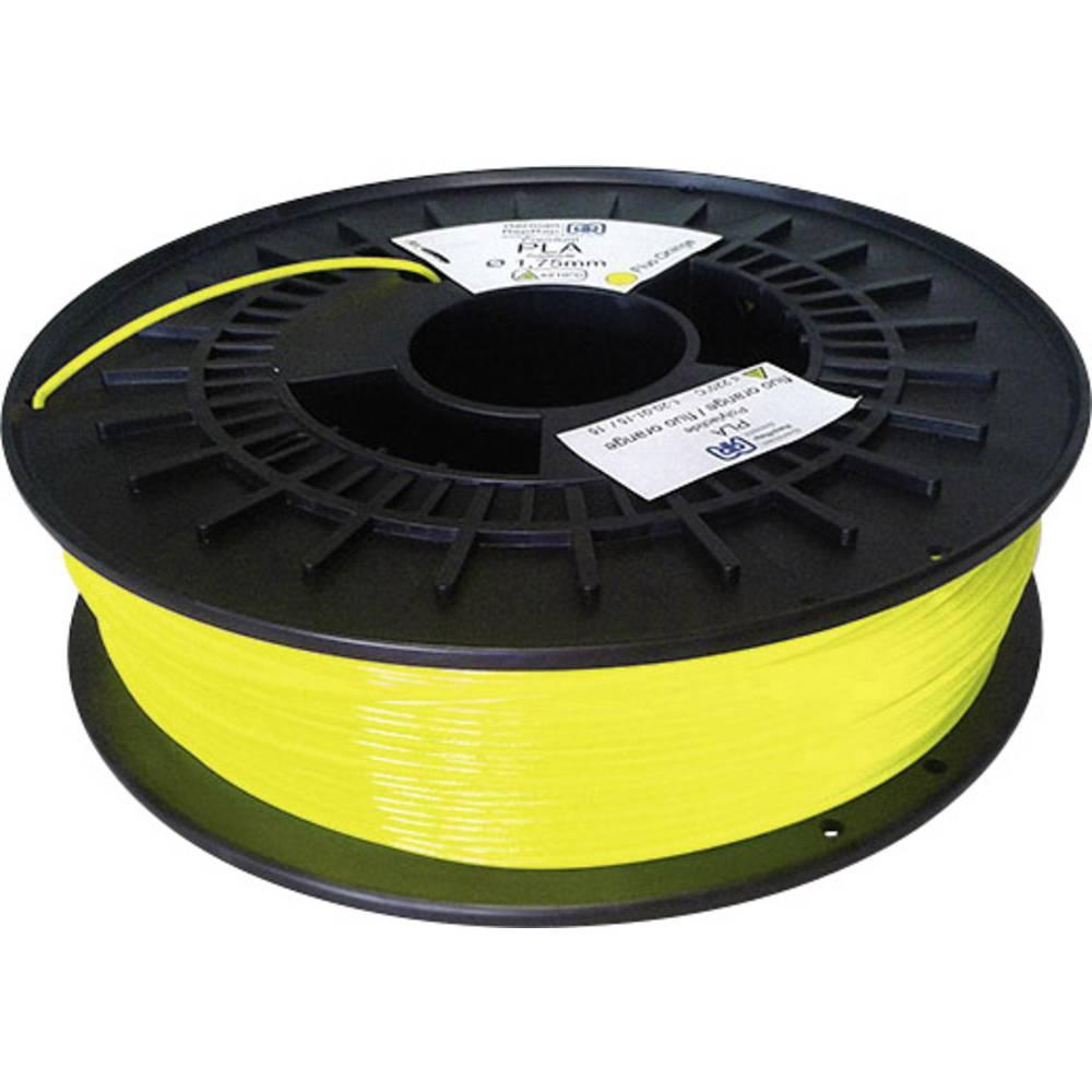 Filament German RepRap 100430 PLA 1.75 mm rumene barve (fluoriscentne barve) 750 g