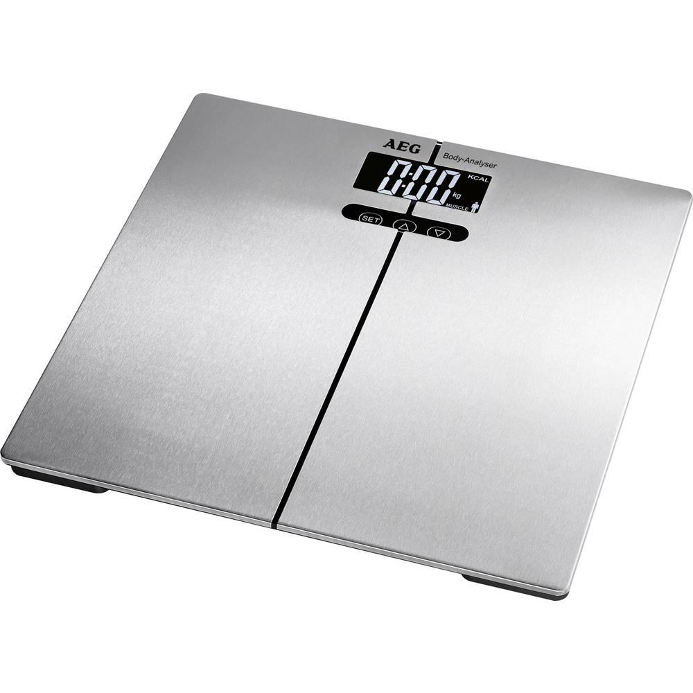 Vaga za analizu AEG PW 5661 FA područje mjerenja (maks.)=180 kg srebrna