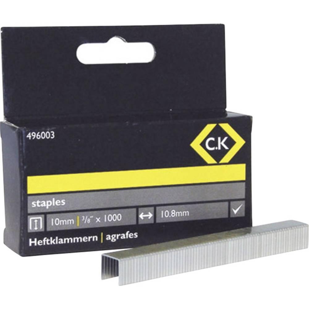 Spajalice C.K. 496003 tip spajalice 140 dimenzije (D x Š) 10 mm x 10.5 mm 1000 komada