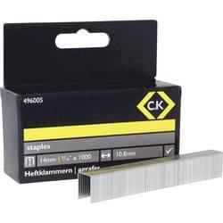 Spajalice C.K. 496005 tip spajalice 140 dimenzije (D x Š) 14 mm x 10.5 mm 1000 komada