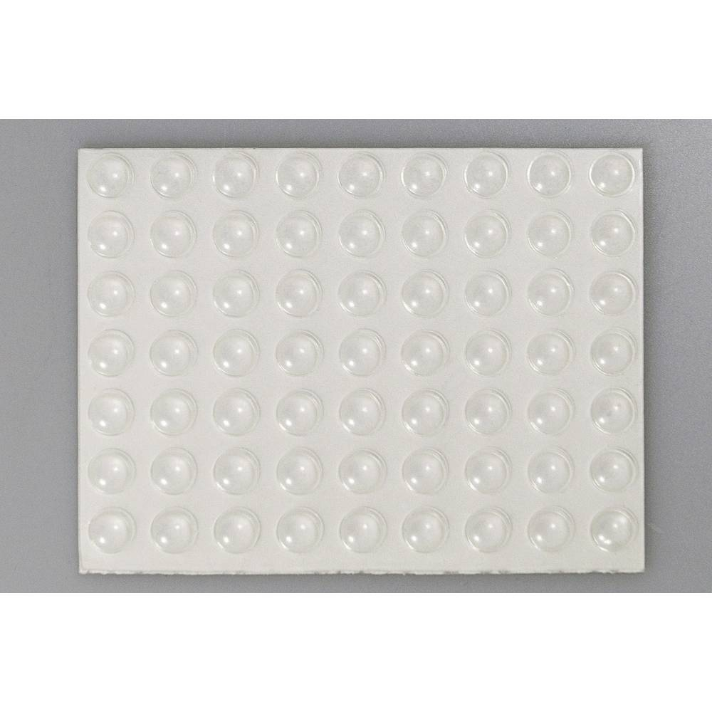 Bumpon elastični ublaživači, komplet TOOLCRAFT 2008C126-C ( x V) 7.9 mm x 2.2 mm poliuretan prozirna