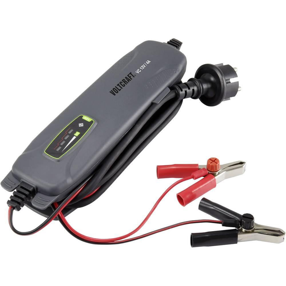 Automatisk oplader VOLTCRAFT VC 12V / 4A VC 12V / 4A 12 V 4 A