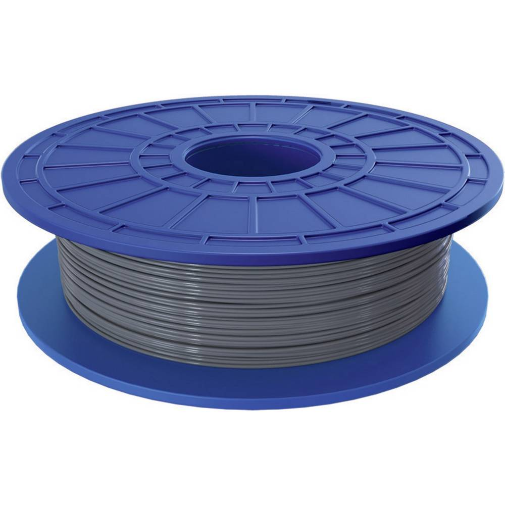 Filament Dremel PLA 1.75 mm srebrne barve 0.5 kg