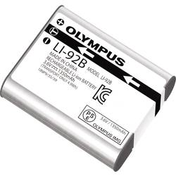 Akumulator za kamero Olympus ersetzt Original-Akku LI-92B 3.6 V 1350 mAh