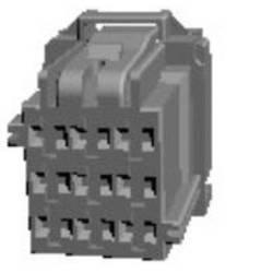 Ohišje za konektorje TE Connectivity 8-968971-1 1 kos
