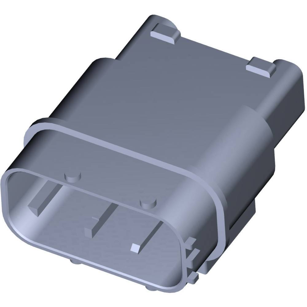 Tilslutningskabinet-printplade MCP Samlet antal poler 12 TE Connectivity 284844-1 1 stk