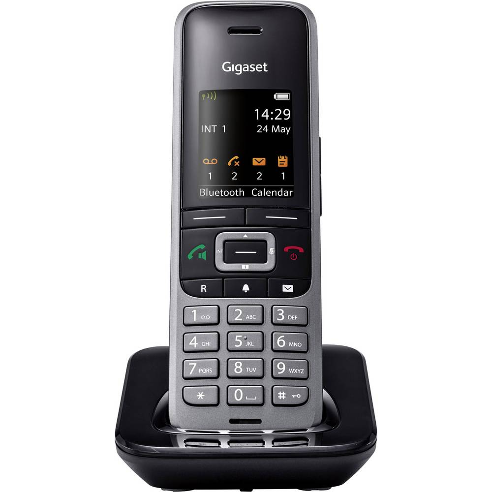 Gigaset Pro S650H DECT telefonska slušalka Črna