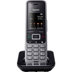DECT slušalica za bežični telefonski uređaj S650H Gigaset pro crna